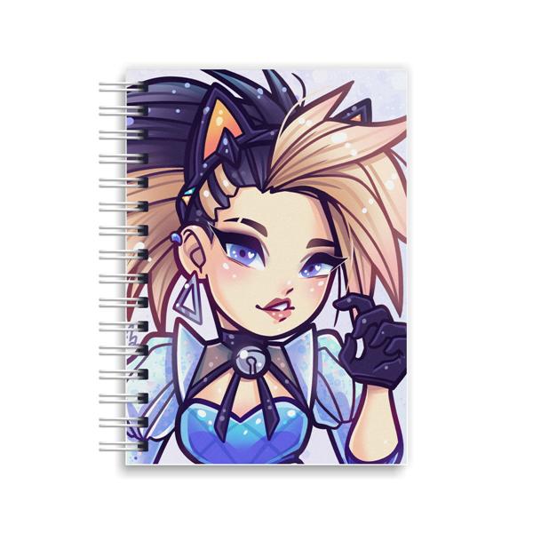 K/DA All Out Spiral Notebook