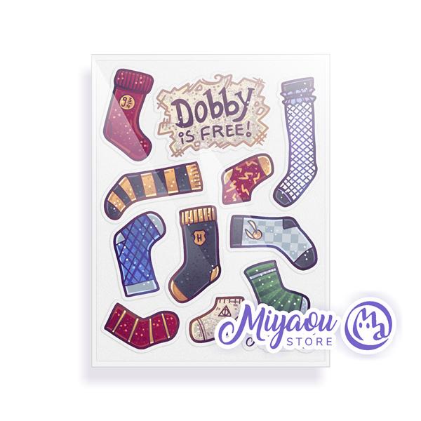 Free Elf Sticker Set
