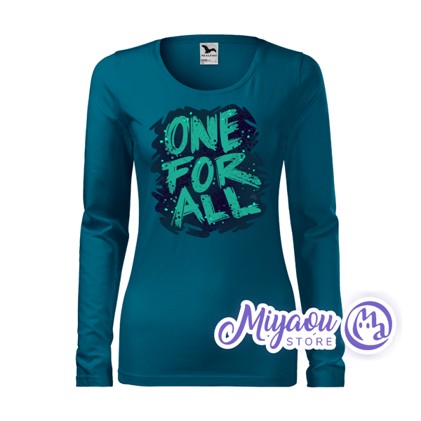 One For All T-shirt with Long Sleeve