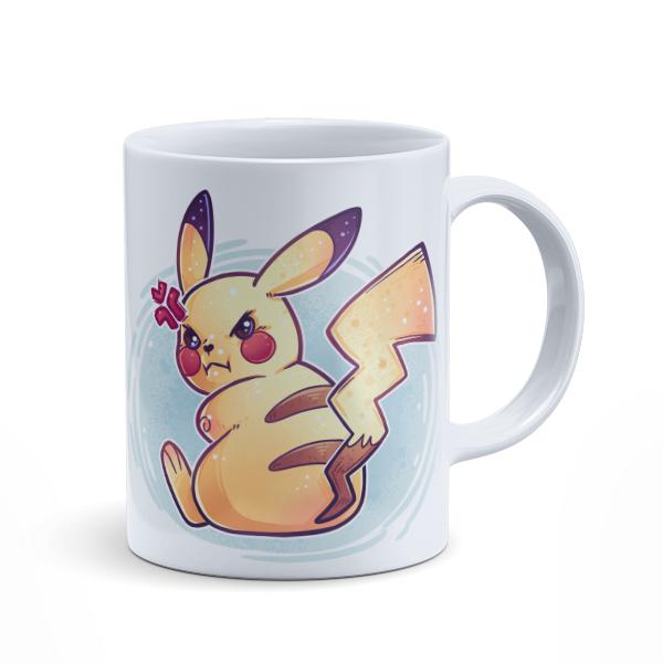 Angry Pikachu Mug