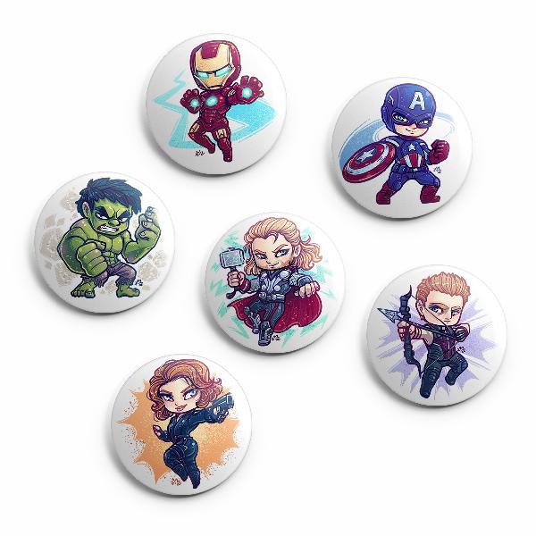 Avengers - Pin Pack