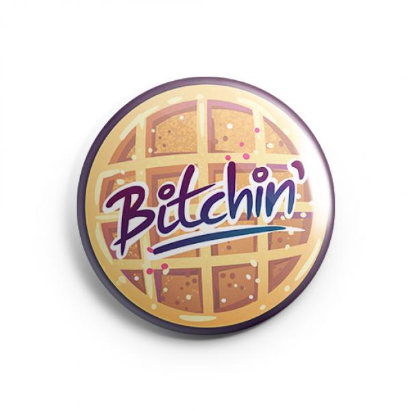 Bitchin' Waffle - Pin